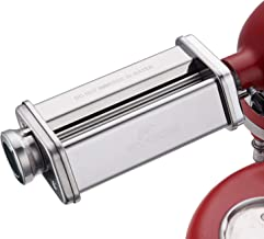 Pasta Sheet Roller Attachment for KitchenAid Stand Mixer, Stainless Steel Pasta Maker..