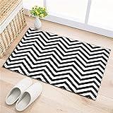 LB Alfombras de baño,alfombras de baño absorbentes Antideslizantes Alfombra de Ducha Suave (60 *...