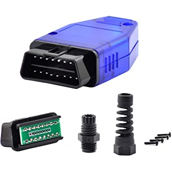 16 Pin OBD 2 OBDII Male Connector Plug Adapter Wiring Diagnostic Tool Repair-JT