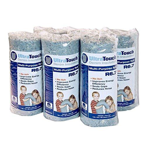 16 in. x 48 in. Denim Insulation Multi-Purpose Roll (6-Pack)