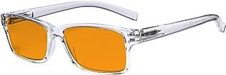 Eyekepper Lunettes de protection contre la lumière bleue Hommes Femmes - Réduit-reflet numérique rondes ovales à rayons UV...