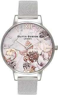 Olivia Burton Womens Quartz Watch, Analog Display and Stainless Steel Strap OB16CS10
