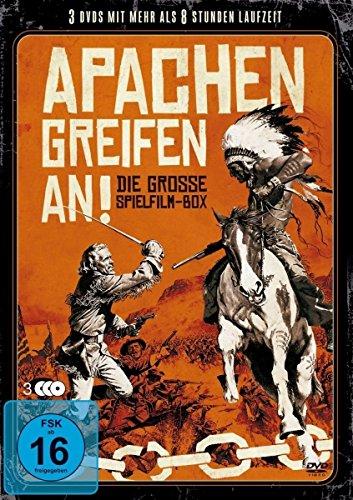 Apachen greifen an! - Die Grosse Spielfilm-Box [3 DVDs]