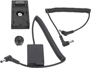 DC出力ポート付きバッテリーパックカプラーアダプターカメラバッテリーパックカプラーフルコードダミーバッテリーパックダミーバッテリー、FZ200カメラ用