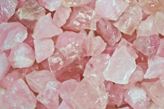 Fantasia Materials: 1 lb Rose Quartz Rough Stones from Madagascar