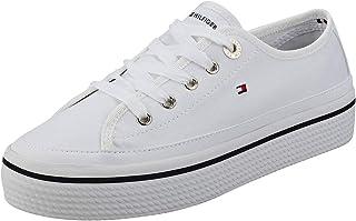 comprar comparacion Tommy Hilfiger Corporate Flatform Sneaker, Zapatillas para Mujer
