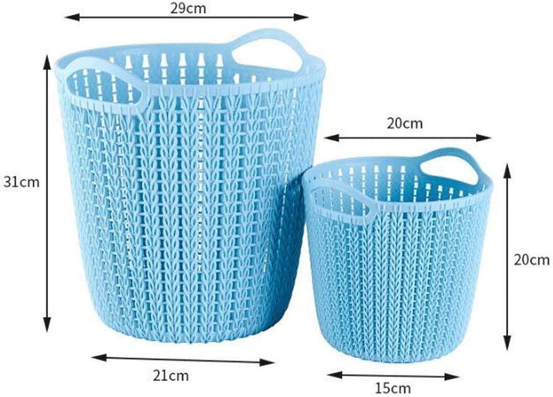 YTTY Kunststoff-Korb, Mehrzweck-Aufbewahrungskorb, für den Haushalt, für tägliche Notwendigkeiten, Aufbewahrungskorb B07KPVRH1T