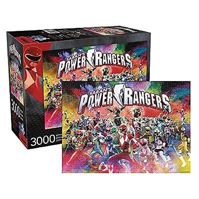 Aquarius Power Rangers Jigsaw Puzzle 3000Piece