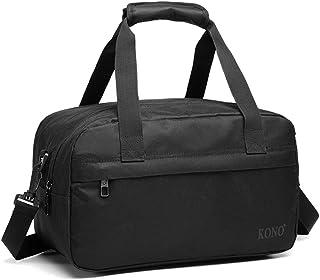 Kono Holdall Cabina Equipaje Bolsa de viaje debajo del asiento Bolsa de vuelo con correa para el hombro Bolsa de equipaje ...