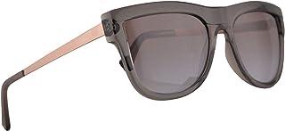 462cde25e4e Michael Kors MK2073 St. Kitts Sunglasses Transparent Grey w Brown Purple  Flash Lens 56mm