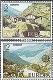 Prophila Collection Andorra - españolas Correos Michel.-No..: 107-108 (Completa.edición.) 1977 €uropa (Sellos para los coleccionistas)