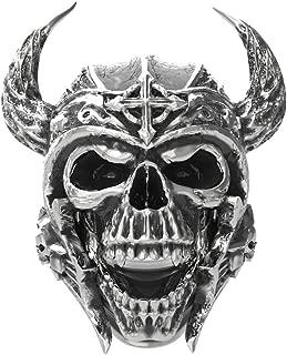 Best stainless steel mens skull rings Reviews