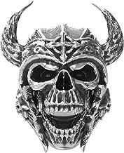 skull helmet ring