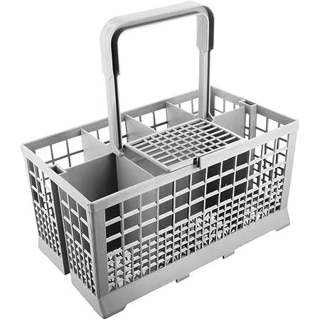 Paxanpax Universel Panier à Couverts pour lave-vaisselle Bosch/ Hotpoint/ Neff/ Siemens/ Smeg gris 68-BS-01
