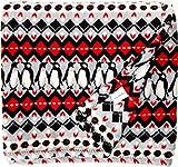 Vera Bradley Women's Throw Blanket Penguins Intarsia One Size