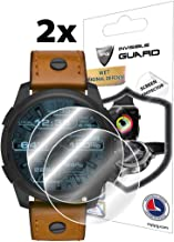 IPG for Diesel Smartwatch (48 MM) DZT2001 - DZT2002 - DZT2003 - DZT2004 - DZT2005 - DZT2007 Screen Protector (2 Units) Invisible Ultra HD Clear Film Anti Scratch Skin Guard - Smooth/Bubble -Free