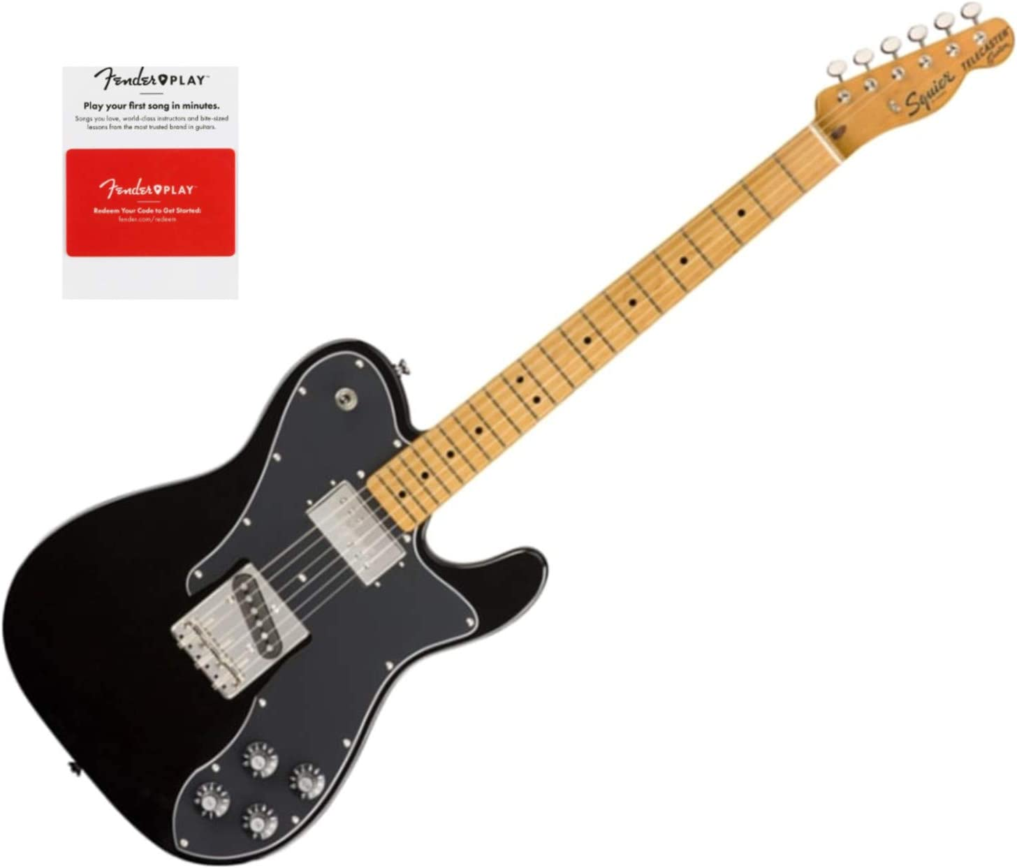 Squier lowest price 0374050506 Classic Omaha Mall Vibe 70s Fing Maple Telecaster Custom