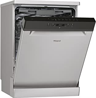 Whirlpool Freestanding Dishwashers Stainless Steel,Silver - WFC 3C26 FX