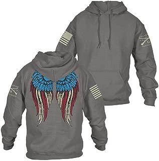 grunt style freedom angel hoodie