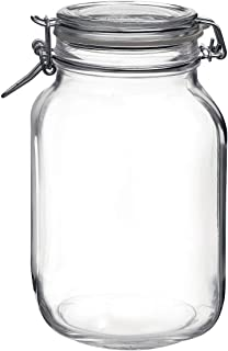 Best glass jar with hinged lid Reviews