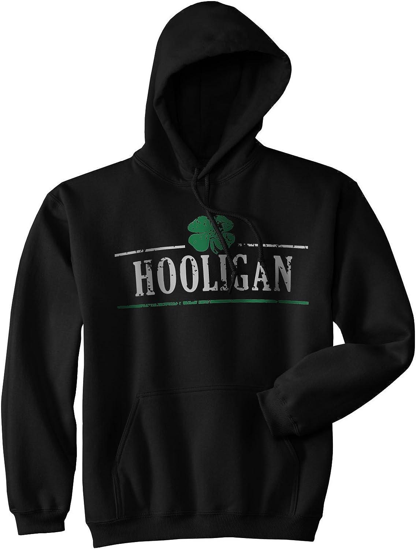 Hooligan Shamrock Funny Saint St Drinking Ranking TOP9 Hoodie Patricks Fo Day Elegant