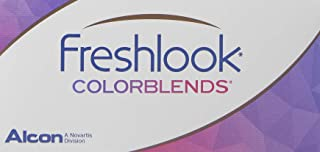 Freshlook Colorblends Plain Powerless Contact Lens - 2 Lenses/Box Sterling Grey (6 Colour Option Available)