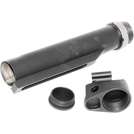 Airsoft 5KU 6-Position Buffer Tube Stock Adapter for E/&L AK Convert to Use M4 Stock