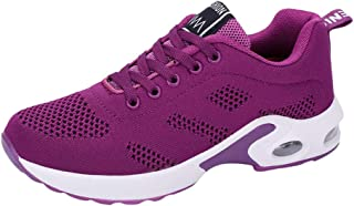 Walakose Chaussures De Securite Femmes Legeres Mode Chaussures De Sports Course Sneakers Fitness Outdoor Run Shoes Running...