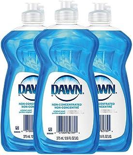 Dawn Non Concentrated Original Dishwashing Liquid, 12.6 Fluid Ounce 3 per Order