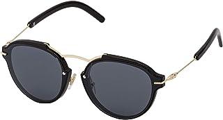 Sky Vision Panto Sunglasses for Women, Black Lens, SV53524