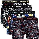Jack & Jones - Calzoncillos tipo bóxer para hombre (4 unidades, algodón) Multicolor #26. Medium