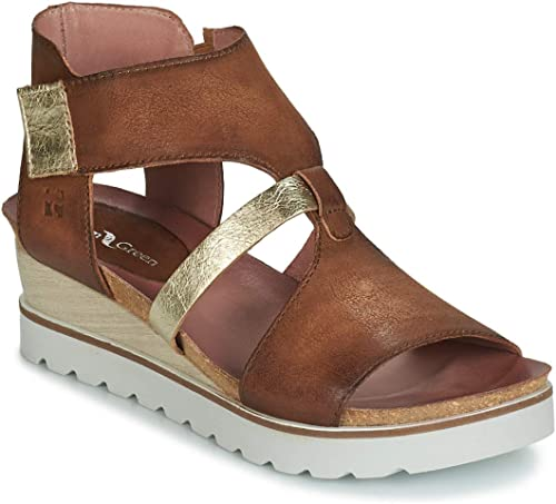 Sandalen Sandaletten Sandalen Braun Damen Sandaletten