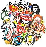 Sticker Pack (200-pcs) Adesivi Stickers Vinili per Computer Portatile, Bambini, Automobili,...