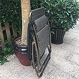 Decoración de muebles Tumbona plegable Sillón reclinable Sillón reclinable Silla plegable Sillas de playa para playa Patio Jardín Camping al aire libre Capacidad de 150 kg Patio exterior Tumbonas S