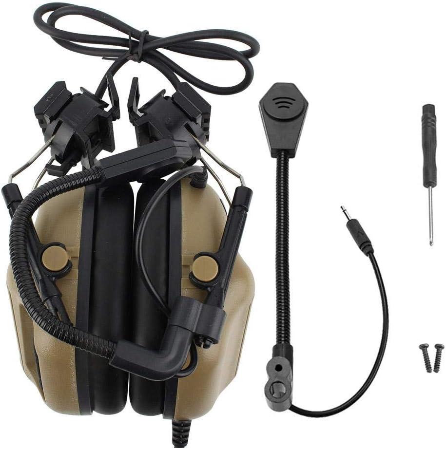 Zer one Helmet Microphone for ☆国内最安値に挑戦☆ Games CS Combats 秀逸 Tactical Headset