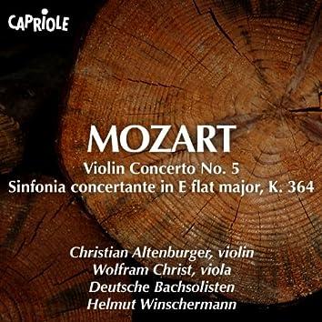 """Mozart, W.A.: Violin Concerto No. 5, """"Turkish"""" / Sinfonia Concertante, K. 364"""