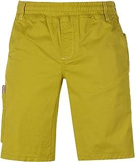 Chillaz Neo Climbing Shorts Mens Yellow Bottoms Short Gym Fitness Sportswear