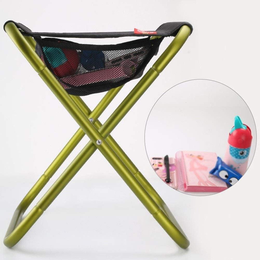 Chaise Longues Chaises De Camping Avec Sac De Transport Pliant Aluminium Ultra-léger Chaise De Plage Portatives Chaise Longue, 2 Couleurs (Color : Green) Green