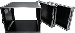 $159 » Harmony Cases HC8UAD DJ Flight 8U Rack Space Universal Road Travel Custom Case