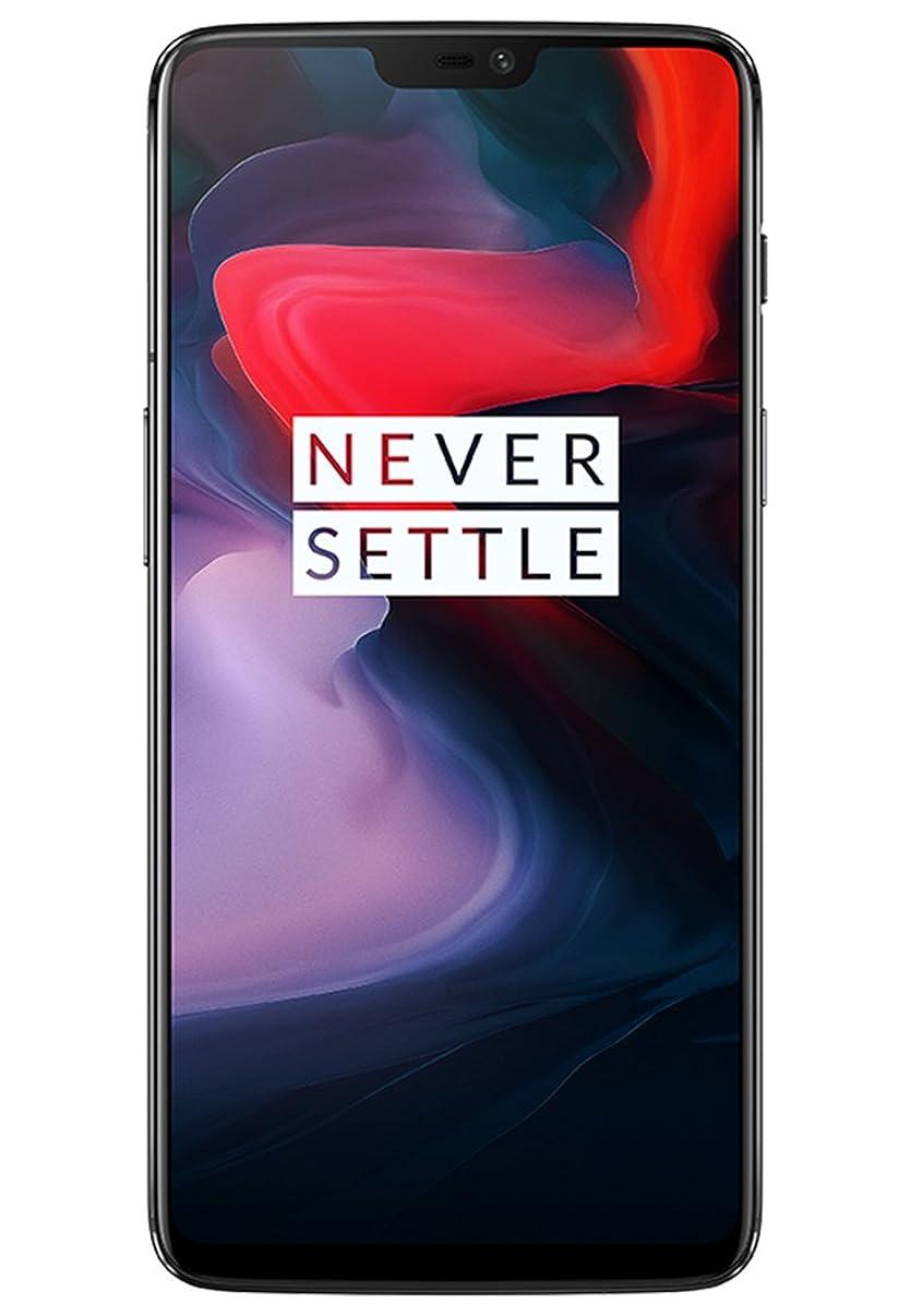 OnePlus 6 A6000 Dual-SIM (128GB Storage   8GB RAM) Factory Unlocked 4G Smartphone (Mirror Black) - International Version