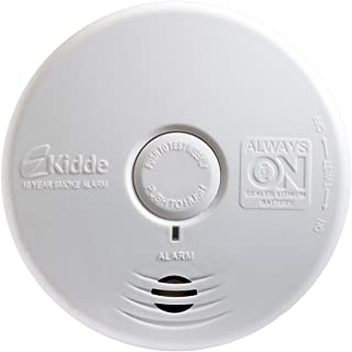 Worry-Free Living Area Sealed Lithium Battery Power Smoke Detector Alarm | Model P3010L