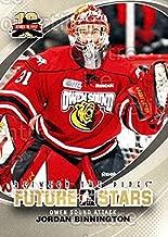 (CI) Jordan Binnington Hockey Card 2011-12 Between The Pipes (base) 3 Jordan Binnington