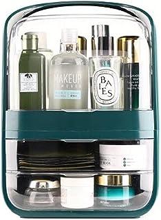 Mode Grote Make-up Organisator, Capaciteit Cosmetische Opbergdoos, Waterdicht Stofdicht Badkamer Desktop Beauty Make-up Or...