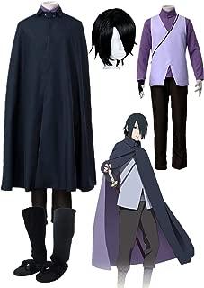 sasuke black cloak