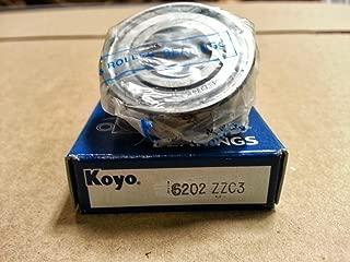 Koyo 6202 2RSC3 Single Row Sealed Deep Groove Radial Ball Bearing