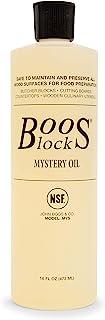 John Boos MYSB Mystery er Block Oil, 16 Ounce Bottle