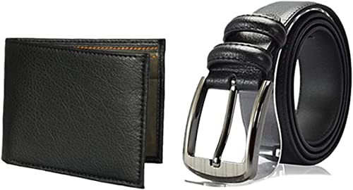 Latest Fashion Wear Belt And Stylish Wallet Combo Set For Mens Gift