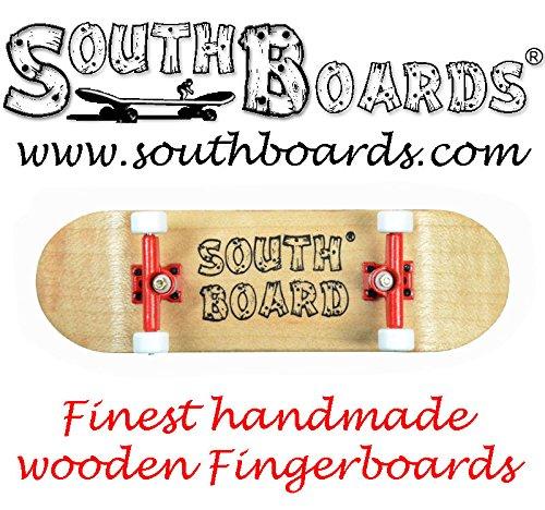 Komplett Fingerskateboard N/RT/WS SOUTHBOARDS® Handmade Wood Fingerboard Echtholz