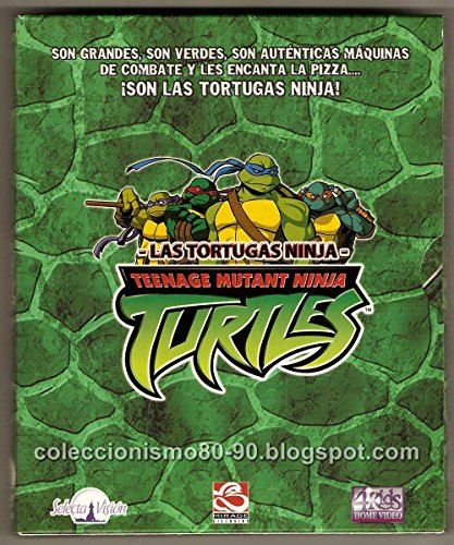Pack Las Tortugas Ninja (5 DVD)