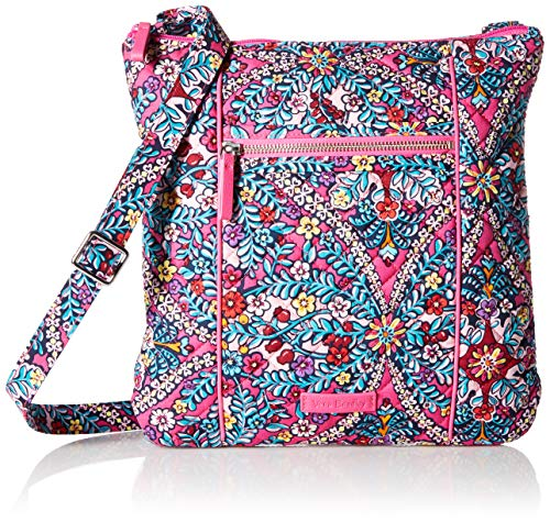 Vera Bradley Signature Cotton Hipster Crossbody Purse, Kaleidoscope